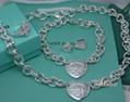Tiffany&co.bracelet fashion bangle new earring lady tiffany neacklace gift box  2
