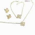 Van Cleef & Arpels jewelry necklace lady earring gift box bracelet  3