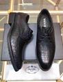 Prada leather shoes man fashion dress shoes Prada sneakers loafers