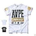 Aape bape stylish T-shirt man Cotton polo new short sleeve tops Aape pants