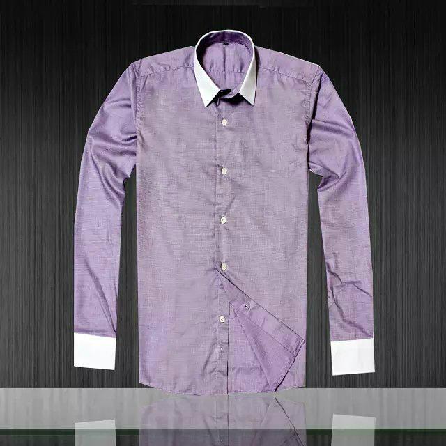 Armani Point collar shirt dress fashion blouse man long suit armani overshirt  1