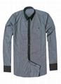 Armani Point collar shirt dress fashion blouse man long suit armani overshirt  2