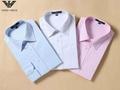 Armani Point collar shirt dress fashion blouse man long suit armani overshirt  4
