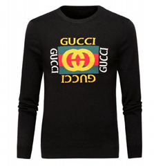 Gucci sweater new Cotton sweatshirt with panther man wolly hoody gucci coat