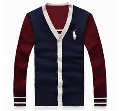 Polo sweatshirt man hoody Polo Ralph Lauren knit cardigan woollen polo knitwear