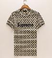 LV tshirt monogram man Cotton t-shirt louis vuitton LV short sleeve tops