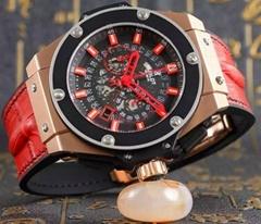 Top quality Hublot watch man wristwatch swissmovement stem-winder