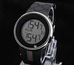 Gucci watch signature gucci wristwatch man G-Chrono stem-winder with box