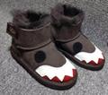UGG kid sneaker UGG sport shoes children loafers slipper ugg boots size 25-34