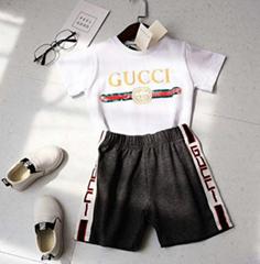 NEW Gucci tracksuit children gucci tshirt kid jogging sportsuit gucci girl dress