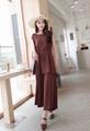 DIOR Dress one-piece long woman petticoat DIOR skirt evening underdress 14