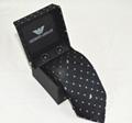 Armani tie man fashion armani necktie choker new neckcloth silk neckwear