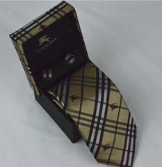 Burberry tie man fashion classic necktie choker burberry neckcloth silk neckwear