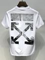 Off white tshirt man stylish cutton t-shirt short sleeve off-white tops