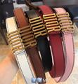 Diorquake Dior Oblique belt Diorquake calfskin belt D-Fence belt in calfskin