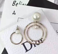 Dior jewelry necklace lady dior earring brooch Set of Dio(r)evolution bracelets