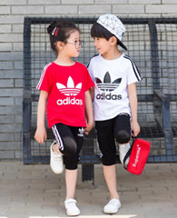 Adidas tracksuit kid jogging adidas children tshirt pants girl dress