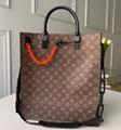 LV Santa Monica Chalk Nano Bag lv Sac Plat bag Soft Trunk Flat Messenger 1