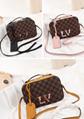 LV Santa Monica Chalk Nano Bag lv Sac Plat bag Soft Trunk Flat Messenger 8
