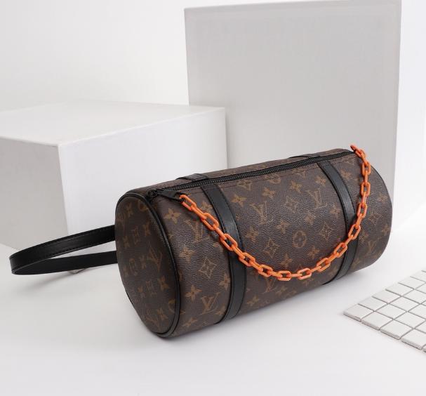 LV Santa Monica Chalk Nano Bag lv Sac Plat bag Soft Trunk Flat Messenger 16