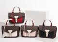 LV Santa Monica Chalk Nano Bag lv Sac Plat bag Soft Trunk Flat Messenger 18
