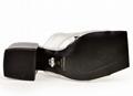 Versace 90s Vintage Logo Mid Heel Sandals Icon Leather Sandalsn versace slides 19