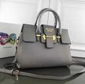 Prada Cahier studded leather bag Fabric Plexiglas prada handbag wallet purse