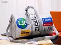 Monogram LV duffle leather man briefcase lv messenger bag travling backpack  13