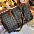 Monogram LV duffle leather man briefcase lv messenger bag travling backpack  15