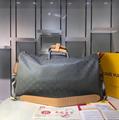 Monogram LV duffle leather man briefcase lv messenger bag travling backpack  16