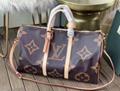 Monogram LV duffle leather man briefcase lv messenger bag travling backpack  17