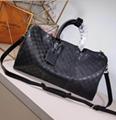 Monogram LV duffle leather man briefcase lv messenger bag travling backpack  19