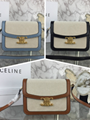Celine Belt bag in grained calfskin lady celine handbag classic bag