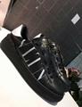 VALENTION VLTN PATENT PUMP ROCKSTUD ANKLE BOOTS VLTN SOCK BOOTIE woman Sandal