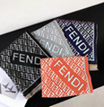 FENDI WRAPPY silk bandeau FENDIRAMA FOULARD Multicolour silk foulard