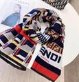 FENDI WRAPPY silk bandeau FENDIRAMA FOULARD Multicolour silk foulard