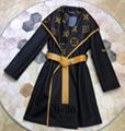 LV coat lady fashion knitwear LV sweater monogram dress lv sport suit