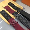 lv initiales 40mm reversible monogram eclipse 014685 LV Shape 40mm Belt 5