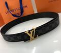 lv initiales 40mm reversible monogram eclipse 014685 LV Shape 40mm Belt 7