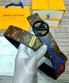 lv initiales 40mm reversible monogram eclipse 014685 LV Shape 40mm Belt 12