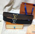 lv initiales 40mm reversible monogram eclipse 014685 LV Shape 40mm Belt 20