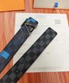 lv initiales 40mm reversible monogram eclipse 014685 LV Shape 40mm Belt 18