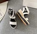 LV boundary wedge sandal starboard thong sandal matchmake platform