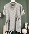 DIOR T-Shirt  Dior Oblique Motif Gradient White-to-Blue Jersey dior polo shirts 3