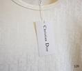 DIOR T-Shirt  Dior Oblique Motif Gradient White-to-Blue Jersey dior polo shirts 4