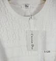 DIOR T-Shirt  Dior Oblique Motif Gradient White-to-Blue Jersey dior polo shirts 5