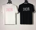 DIOR T-Shirt  Dior Oblique Motif Gradient White-to-Blue Jersey dior polo shirts 10