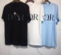 DIOR T-Shirt  Dior Oblique Motif Gradient White-to-Blue Jersey dior polo shirts 12