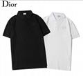 DIOR T-Shirt  Dior Oblique Motif Gradient White-to-Blue Jersey dior polo shirts 13