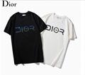 DIOR T-Shirt  Dior Oblique Motif Gradient White-to-Blue Jersey dior polo shirts 16